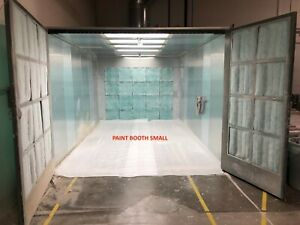 Bleeker Industrial spray booth (2 spray booths+oven+ mix room+3 dust collectors)