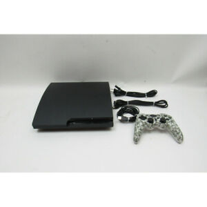 Sony PlayStation 3 CECH-3001A 160 GB Video Game Console Jet Black