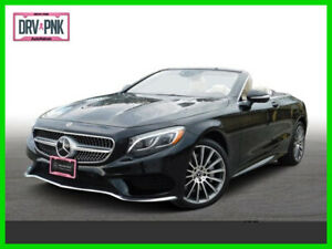 2017 Mercedes-Benz S-Class S 550 2017 S 550 Used Turbo 4.7L V8 32V Automatic Rear Wheel Drive Convertible Premium