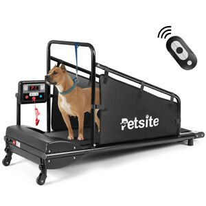 Pet Treadmill Indoor Exercise For Dogs Pet Exercise Equipment w Remote Control