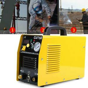 110V 50AMP Portable Electric Digital Plasma Cutter CUT50 Compatibleamp; Accessories $190.99
