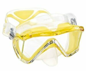 Mares i3 Mask with Side Windows Yellow (411040)