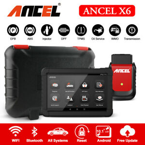 OBD2 Automotive Full System Scanner Car Diagnostic Tool IMMO Airbag ABS Reset
