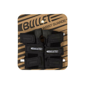 Bullet Skateboard Pads Wrist Guards Black