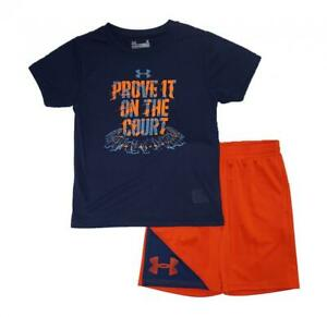 Under Armour Toddler Boys SS Prove It On The Court Top 2pc Short Set Size 4T