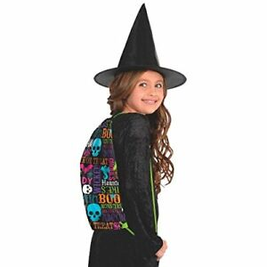 Happy Halloween Trick or Treat Backpack Party Favour, Polyester, 17