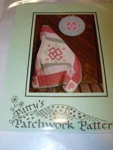 APPLIQUE QUILT QUILTED SEWING PATTERN FABRIC CRAFTS PATTYS PATCHWORK WALL ART $5.99