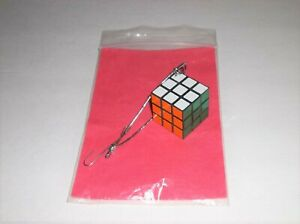 Rubik's Cube Ornament-MIni Christmas Tree Holiday Multi Color Game Player Gift