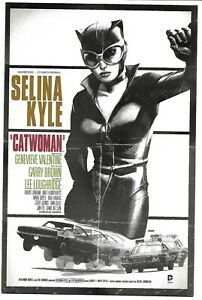 CATWOMAN #40 BULLET MOVIE POSTER VARIANT NM 2012 DC COMICS