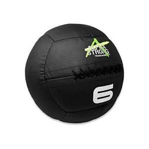ALPHA STRONG Bullet Proof Medicine BallBurst-Proof Weight Wall Ball for Exercise