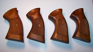 1 --  Vintage Smith & Wesson Firearms Wood Grips S&W K / L   Frame Square Butt