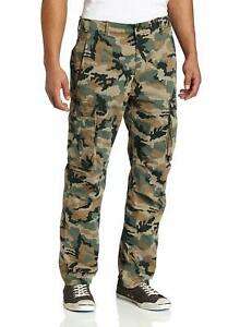 Levis Cargo Pants Relaxed fit Cargo Pants Color Green Camouflage