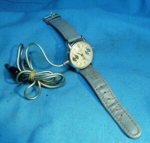 Vintage 1950's Cold War Era Hanhart Germany Spy Chronograph Novelty Watch  *