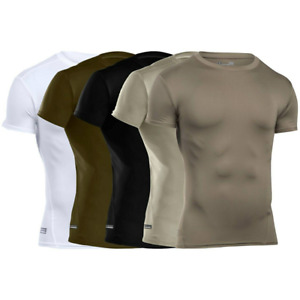 Under Armour 1216007 UA Tactical HeatGear Compression T Shirt Short Sleeve Tee $22.49