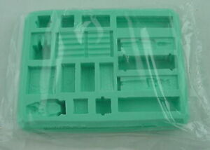 Hirst Arts #97 Egyptian Tomb Accessory Silicone Fantasy Mold HIR097