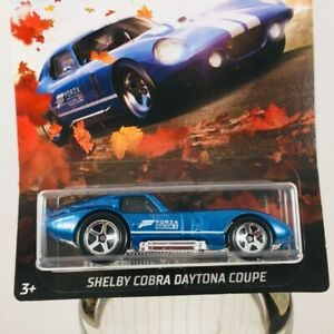 2019 HOT WHEELS FORZA HORIZON 4 4/6  SHELBY COBRA DAYTONA COUPE
