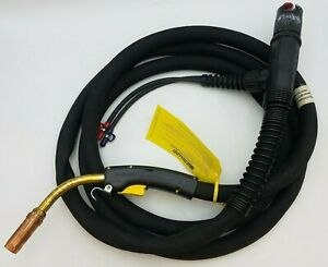Bernard W6015AI7IB Water Cooled MIG Gun 600A 15ft 1 16quot; Industrial Welding Equip $650.00
