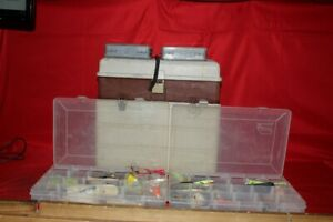 Old Plano Tackle Box Full of Fishing Lures (CP1051763)