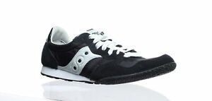 Saucony Womens Bullet Black/Silver Running Shoes Size 8 (304641)