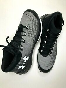 Under Armour NXT Black  White Basketball 1303011-001 Men's shoes Size 16 - NEW