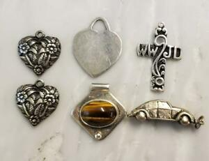 Dealer's Lot of 6 Sterling Silver Miscellaneous Items ~ 20.1 grams ~ 17-G2726