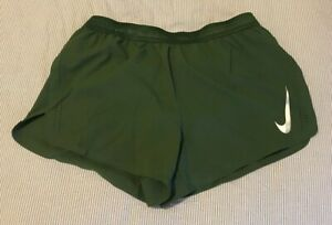 """*NEW WITH TAGS* NIKE AEROSWIFT 4"""" SHORTS MENS COLOR GREEN 892897-323 Large"""