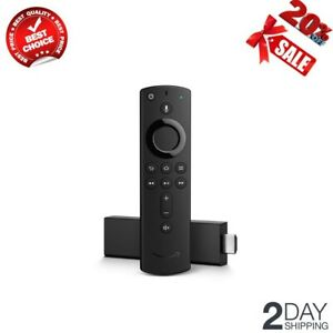 NEW Fire TV Stick 4K Ultra HD HDR Streaming Media Player with Alexa Voice Remote