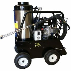 Cam Spray Professional 3000 PSI (Gas-Hot Water) 3 GPM Pressure Washer w Hond...