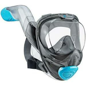WildHorn Outfitters Seaview 180° V2 Flowtech Sky Small Full Face Snorkel Mask