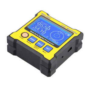 DXL360 Dual Axis Digital Angle Protractor Level Gauge w 5 Side Magnetic Base $47.94