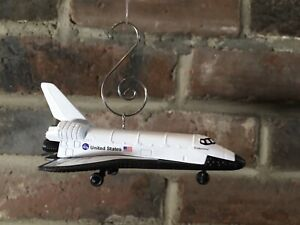 NASA US Space Shuttle Endeavor Discovery Die Cast Metal Christmas Ornament $14.95