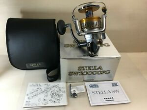 SHIMANO STELLA SW 2000 PG Spinning Reel Used Very Good Condition EXCELLENT 107