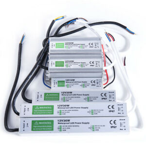 LB AC110-220V to DC 12V Power Supply Driver Transformer Waterproof IP67 for LED