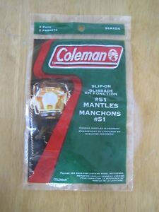 COLEMAN #51 Rosette Shaped Mantles 12 Packages of 2 Mantles # 51A104