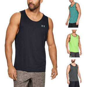 Under Armour 1328704 Mens UA Tech 2.0 Tank Top Athletic Training Gym Shirt $21.49