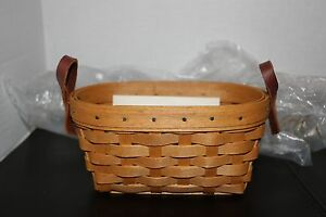 Longaberger 2005 Horizon of Hope Basket #10280 Warm Brown NEw