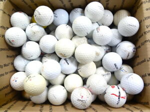 100 Miscellaneous Hit Away Practice Range Golf Balls