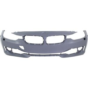 Front Bumper Cover For 2012 15 BMW 328i Modern Luxury Sport w Headlight Washer $154.11