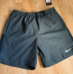 """Nike 7"""" Men Flex Chanllenger Running Shorts Size Large New With Tags Dri-Fit"""