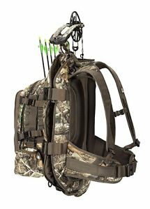 PREMIUM Camo COMPOUND BOW BACKPACK Hunting Carrying Case Arrows Shoulder Strap