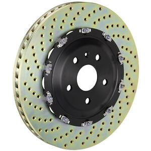 Brembo 405mm Front 2-Piece Discs  Rotors for 12-19 GT-R R35 101.9504A