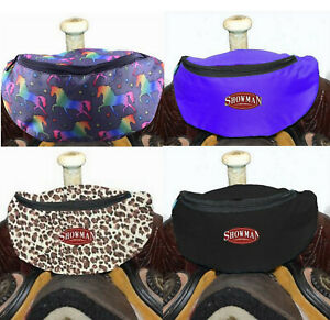 Western Horse Saddle Sack Lined Pouch Bag Attaches to the Saddle Many Colors $14.90