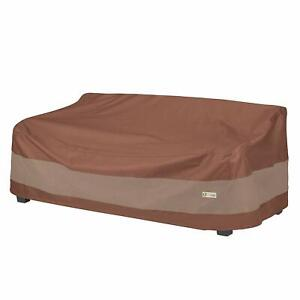Duck Covers 87 Inch Ultimate Patio Sofa Cover Water Resistant UV Stability