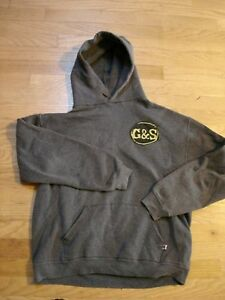 Rare Vintage 1980's G&S Skateboard Hoody Neil Blender Candle In the Dark Graphic