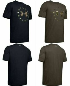 Under Armour 1343547 Men's UA Freedom Camo Logo Graphic Tee Short Sleeve T Shirt $22.99