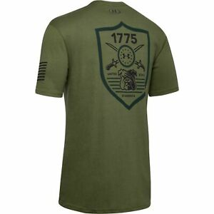 Under Armour 1343551 Men#x27;s UA Freedom By 1775 Graphic Tee Short Sleeve T Shirt $19.99