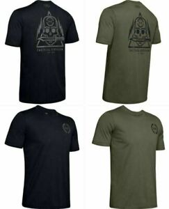 Under Armour 1343356 Mens UA Freedom Skull w Knife Tee Short Sleeve T Shirt $22.99