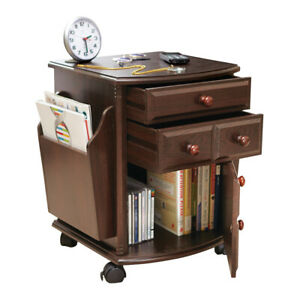 Wheeling Companion Storage Table