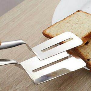 Food Tongs Meat Bread BBQ Kitchen Cooking Baking Clip BBQ Tools Stainless Steel