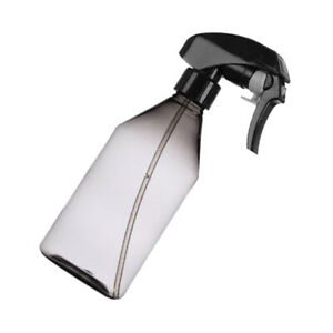 300ml Plastic Empty Spray Bottle Mist Trigger Sprayer for Plants Hair Grey